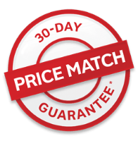 30 DAY PRICE MATCH GUARANTEE